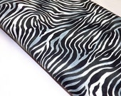 Jungle Time Black and White Quilting Zebra Fabrics Sewing Animal Print Wild Textiles Quilters