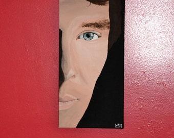 Benedict Cumberbatch Acrylic Painting