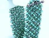 Beading Tutorial -Basketweave Bracelet - Right Angle Weave