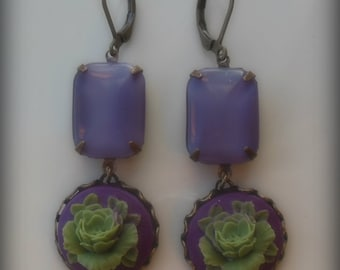Passion for Purple Earrings