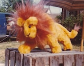 Lion or Lioness Stuffed Animal Pattern to Sew