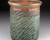 Coffee Jar,  or Tea Canister - Made to Order.