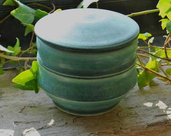Soft Teal Pet Urn