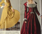 Sewing Pattern Simplicity C2172 Costume Misses' Victorian Dresses Size 14-22 Uncut Complete FF