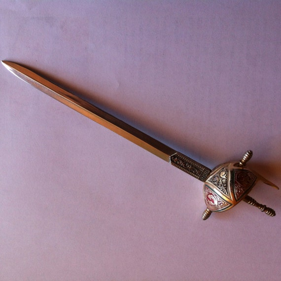 cool letter openers vintage sword letter opener bought in the uk so cool for your 20961 | il 570xN.745454957 5ajf