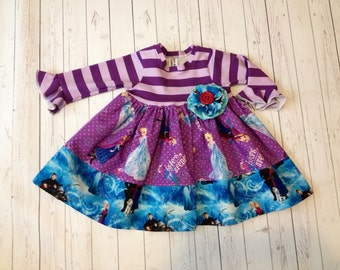 2 pc Ice Princess Dress