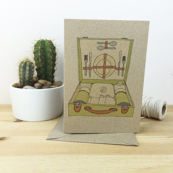 Picnic set card (100% recycled)