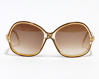Nina Ricci vintage sunglasses - model: 130 - NOS condition - oversized sunglasses - made in France -1980s