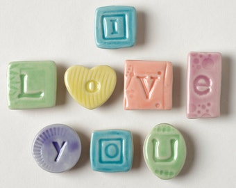 I Love You Letter Fridge Magnets