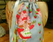 My Moon-thly bag - Strawberry Girl blue