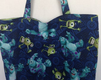 Large Tote-Monsters University (Bag 540)