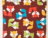 Birthday Party GOODIE Snack BAGS Set of Six Choose Size and Design Woodland Creatures Fox Frog Moose Racoon