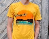 Winooski Tee - Vermont shirt - Vintage inspired - American Apparel - Unisex