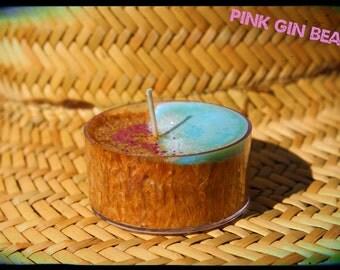 Pink Gin Beach Tea Lights