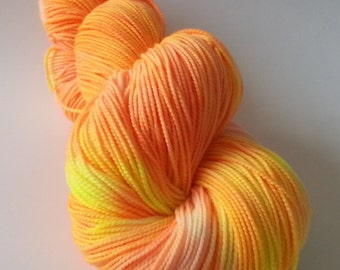 Tequila Sunrise - SW Merino/Nylon Fingering - Solitude