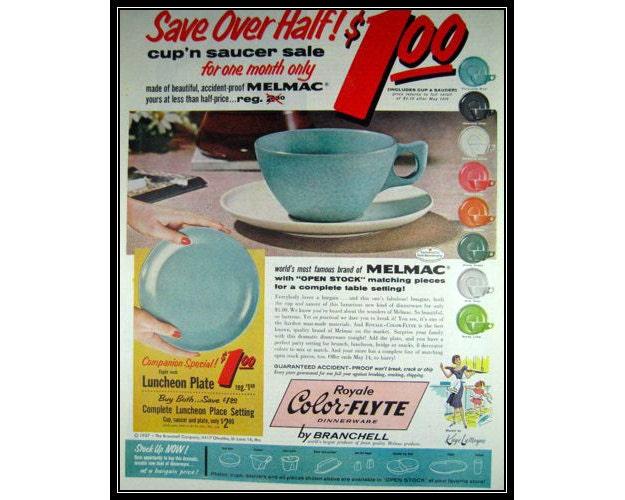 Vintage Color-Flyte Melmac Dinnerware Ads  sc 1 st  Vintage Plastic Melmac Dinnerware History Melamine & Vintage Plastic Melmac Dinnerware History Melamine : Vintage Color ...