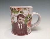 Ron Swanson Icon Mug