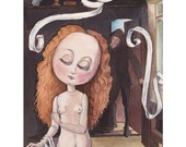 "Mimi in ""Der Liebeszauber"" Giclee Fine Art Print, Painting, Giclée"