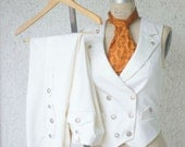 Deposit---White Wedding Suit