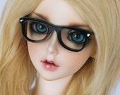 BJD glasses SD Feeple60 BJD black wayfarer glasses MonstroDesigns