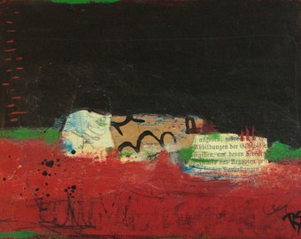 The Earth Below - Original Mixed Media Painting