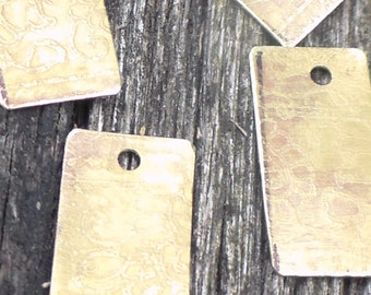 Etched Brass Components Boho