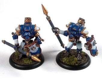 Pair of Talon Mercenary Light Warjacks
