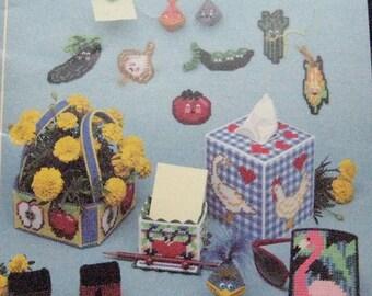 Plastic Canvas Bazaar Pattern Book