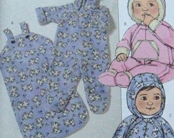 Butterick Baby Bunting Pattern 4904