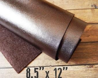 Metallic BRONZE Felt Sheet - 8.5 x 12 You Pick Quantity - Exclusive to A Market Collection