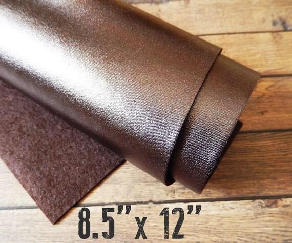 Metallic Bronze Felt Sheet 8 5 X 12 You Pick Quantity