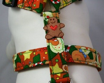 Dog Harness - Gingerbread