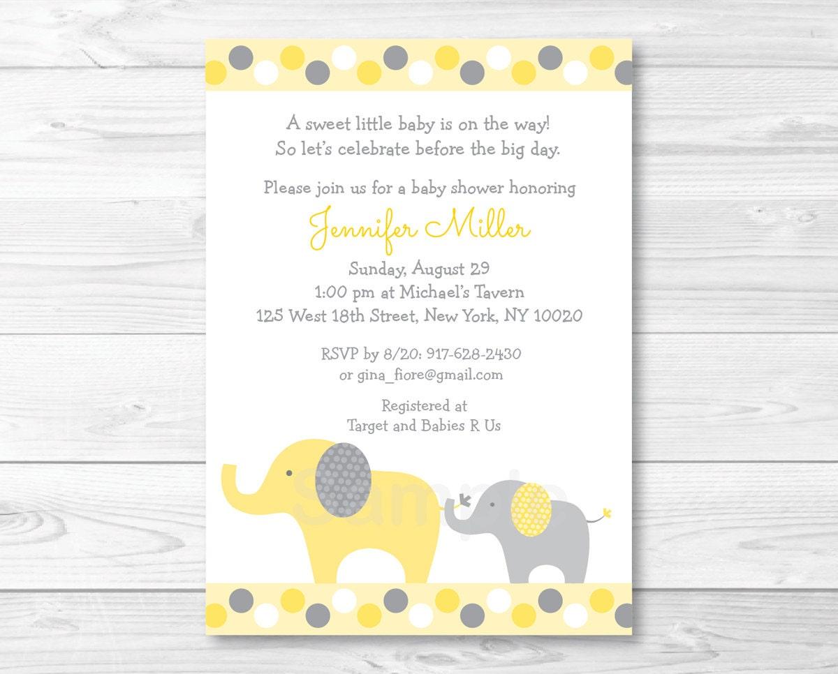 elephant baby shower invitation elephant baby shower invite