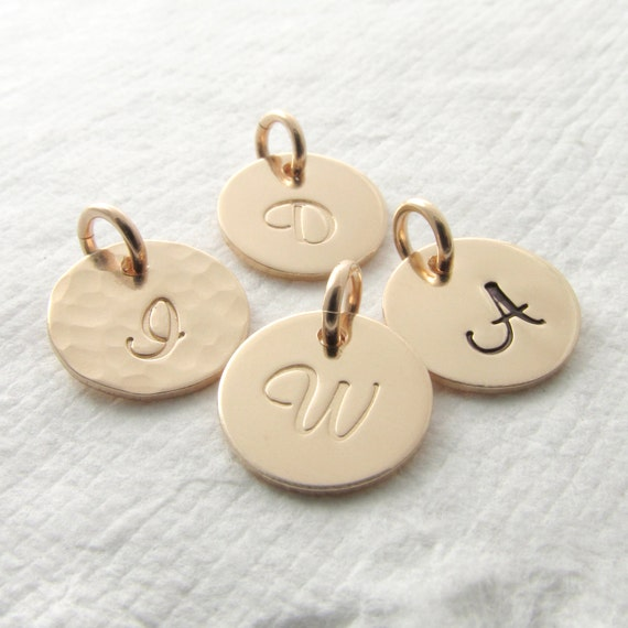 Gold Initial Pendant Gold Pendant Initial Pendant Gold Initial Charm Initial Charm Personalized Jewelry