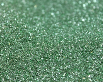 German Glass Glitter - Yellow Green