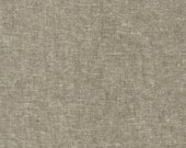 1 yard--Essex Yarn-Dyed Linen in Olive, Robert Kaufman Fabrics