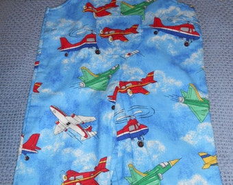 Boys Romper (Airplanes) Size 9-12 Months