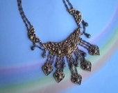 Vintage 40s Etrusceana Necklace Rice Weiner