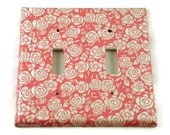 Light Switch Cover Wall Decor   Switchplate Cover  in  Cynthia Rose  (225D)