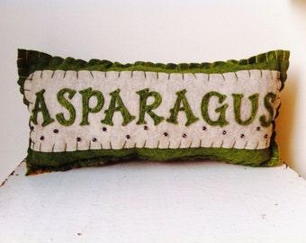Asparagus Pillow