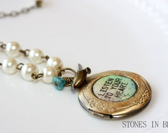 NECKLACE - Beautiful locket necklace