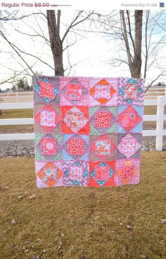 square dance rag quilt pattern