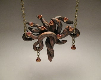 Heart Tree Necklace - Tree of Love Necklace