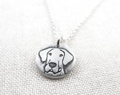 Tiny Great Dane necklace, silver Great Dane  jewelry, pet memorial necklace,  remembrance jewelry