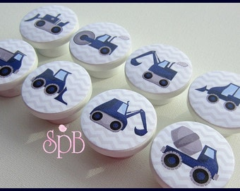 Construction Knobs • Dump Truck • Cement Truck • Chevron • Dresser Knobs • Dresser Drawer Knobs • Drawer Pulls