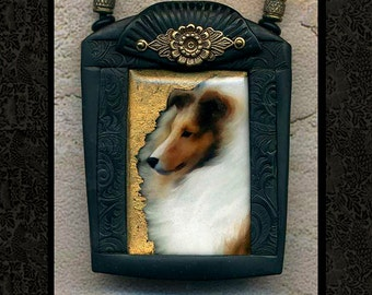 Sheltie/Shetland Sheepdog necklace