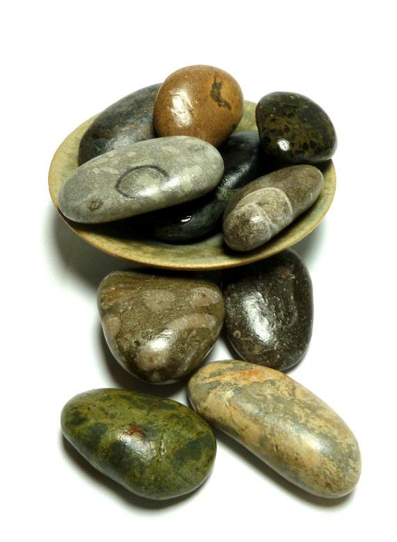 grande d coration pierre fontaine set plage galets zen par stoneme. Black Bedroom Furniture Sets. Home Design Ideas