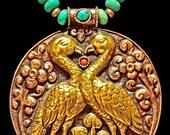 Nepalese Lovebirds - Copper & Brass