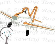Flying Dusty Planes  Applique Embroidery Design Instant download This is NOT A PATCH