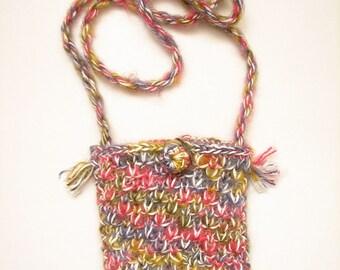 BIG SALE Messenger Handbag,Knitted Handbag,Gift for her,gift her mom,Crochet,Bag Purse,Gift,Cross body bag tripper bag gift
